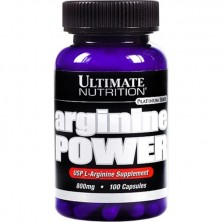Ultimate-Nutrition Arginine Power 800mg 100caps