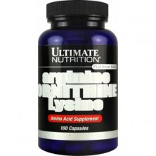 Ultimate Nutrition Arginine Ornithine Lysine 100caps