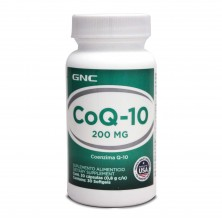 GNC COQ-10 200mg 30caps