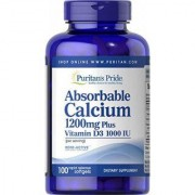 Absorbable Calcium 1200 mg with Vitamin D3 1000 IU 100 softgels