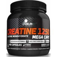 Creatine Mega Caps 1250 400 caps Olimp