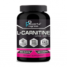 L-Carnitine	90 caps Powerful Progress