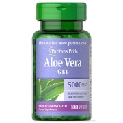 Aloe Vera Gel 5000 mg	100 softgels Puritan's Pride