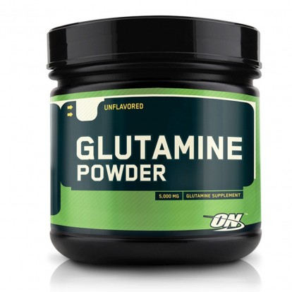 Аминокислоты glutamine 600g optimum nutrition фото