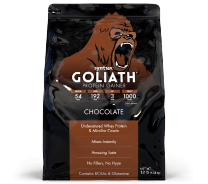 Гейнеры Goliath 5400 g Syntrax в Украине фото