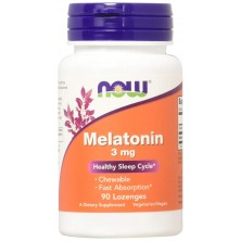 MELATONIN 3MG  90 LOZ NOW