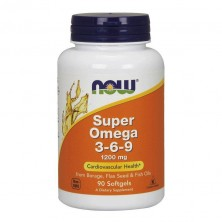 SUPER OMEGA 3-6-9 1200 MG  90 SGELS NOW