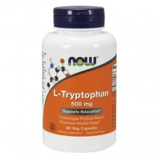 L-Tryptophan 500 mg 60 caps NOW