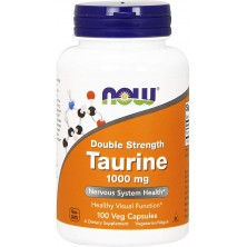 Taurine 1000 mg 100 caps NOW