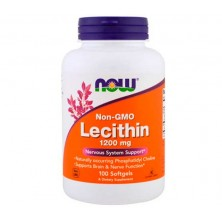 Lecithin 1200 mg 100 Softgels Now Foods