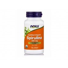 Spirulina 500 mg 100 tablets Now foods