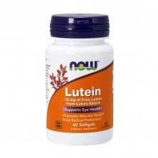 Lutein 10 mg (60 softgels) Now