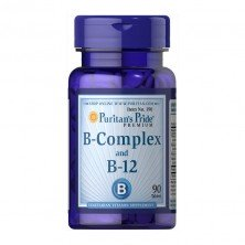 B-Complex with B-12 90 tabs Puritans Pride