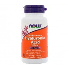 Hyaluronic Acid 100 mg 60 caps NOW