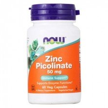 NOW Zinc Picolinate 50 mg 100 tablets