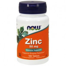 Zinc Gluconate 50 mg 100 tablats NOW