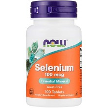SELENIUM 100 t NOW FOODS