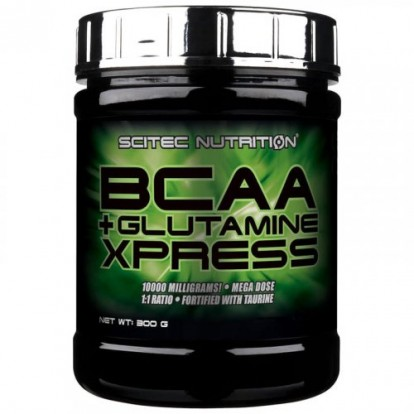 БЦАА (BCAA)  BСAA + Glutamine Xpress 300 g Scitec Nutrition фото