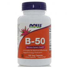 B-50 100 Tablets NOW