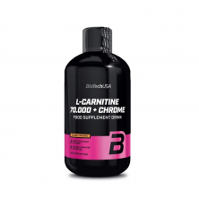BioTech L-carnitine 70000+Chrome 500 ml