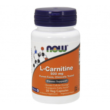 NOW L-Carnitine 500 mg 30 капсул