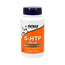 5-HTP 100 mg 60 veg capsules Now