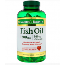 Fish Oil 1200 mg 180 softgels