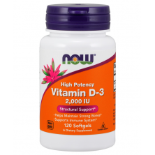 Vitamin D-3 2000 120 Softgels
