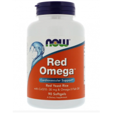 Red Omega 90 softgels NOW