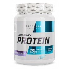 100% Whey Protein 500 grams Progress Nutrition
