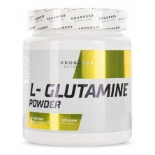 L-Glutamine powder 500 г Progress Nutrition