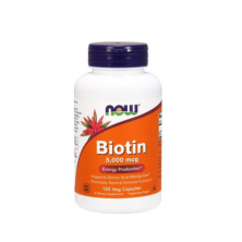 Biotin 5000 120 Veg Cupsules Now Foods