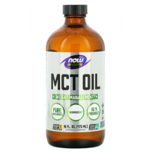 MCT Oil 473 ml Now Foods