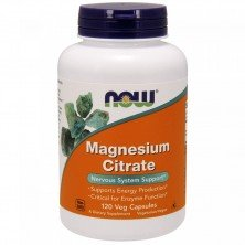 Magnesium Citrate 120 caps Now Foods