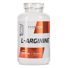 L-arginine 90 caps Progress Nutrition