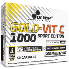 Gold Vit C 1000 Sport Edition 60 caps Olimp