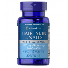 Hair, Skin & Nails One Per Day Formula 30 капс