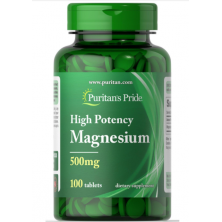 Magnesium (500 mg) 100 tablets