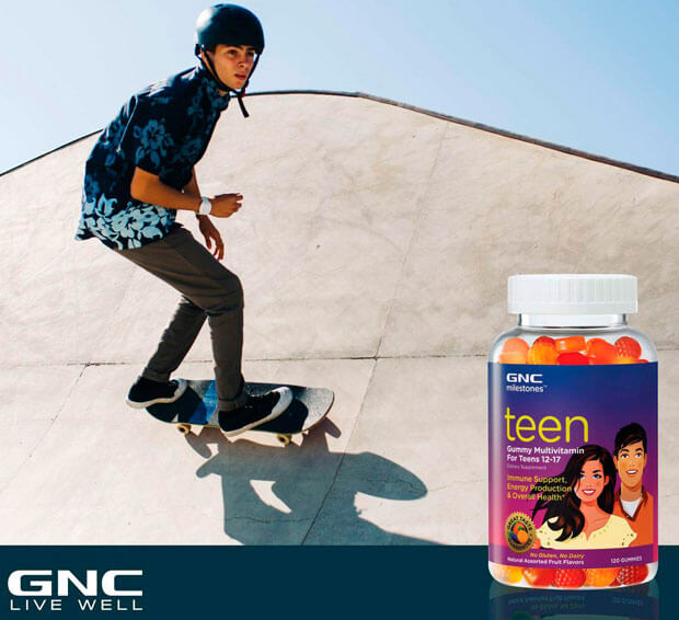 GNC Teen Multy Gummy 120gummies 12-17years фото