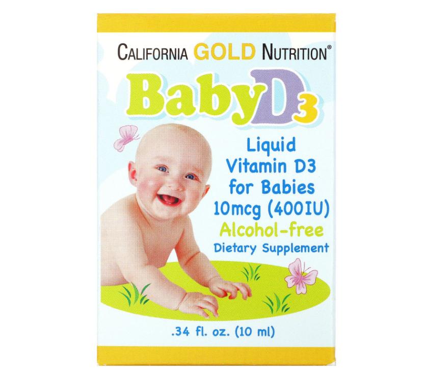 Как принимать витамин Д3 детям